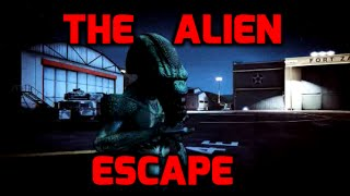 GTA 5: The Alien Escape movie (Rockstar editor)