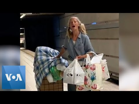 Angelic Voice Of Homeless Woman In Los Angeles Subway Goes Viral