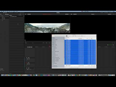 How to import an image series as single images but clip to DaVinci Resolve