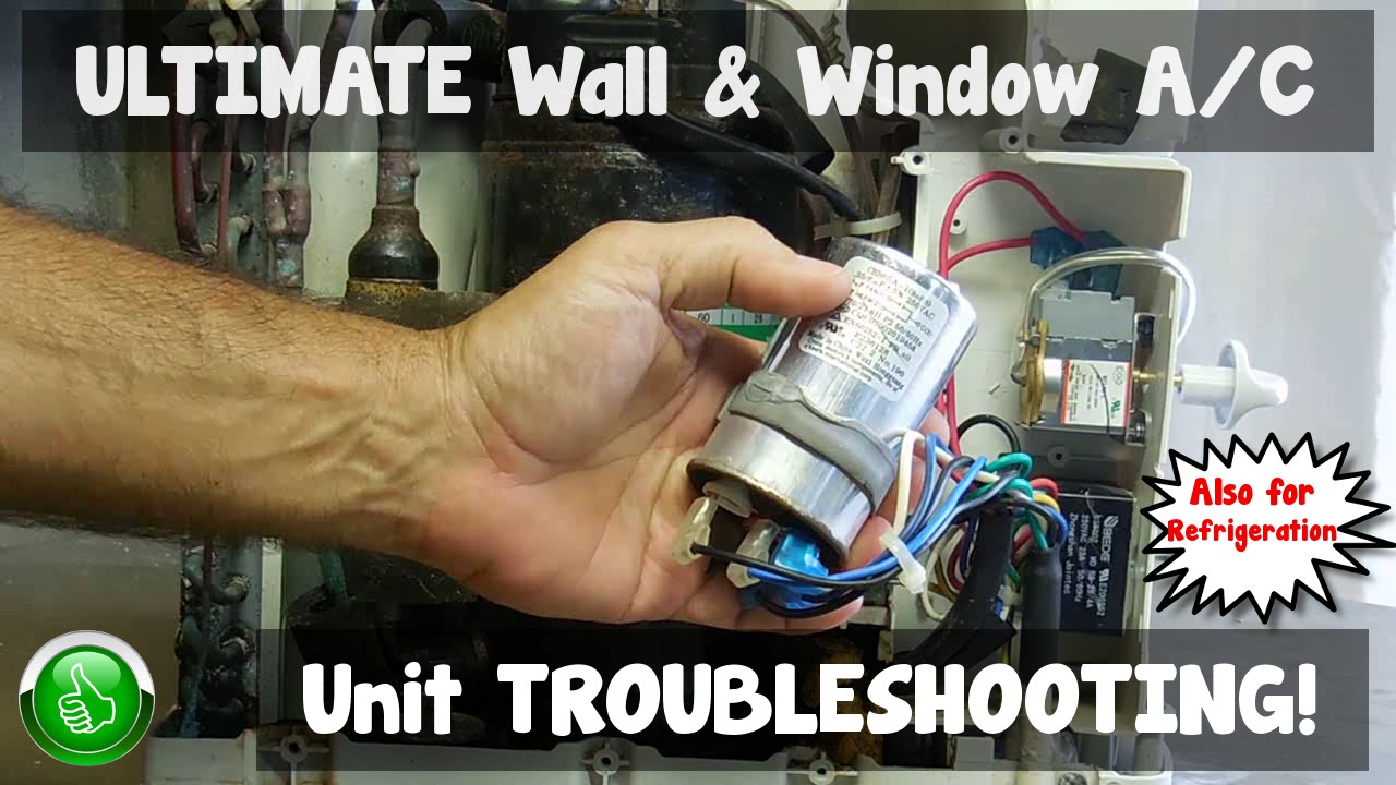 TROUBLESHOOTING Wall & WIndow A/C Units(Step By Step) on