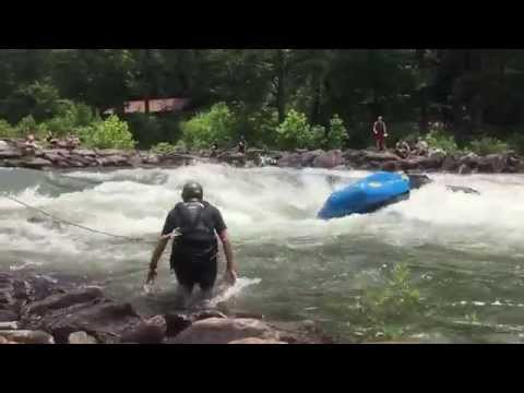 Whitewater Rafting Raft Rescue