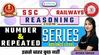 9:30 PM - SSC \u0026 Railway Exams 2021   Reasoning by Ritika Tomar   Number and Repeated Series