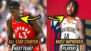 8 PLAYERS WHO WILL BREAKOUT THIS SEASON | 2019-2020 NBA SEASON PREDICTIONS Video