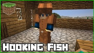Hooking Some Fish / Minecraft Roleplay with Karina