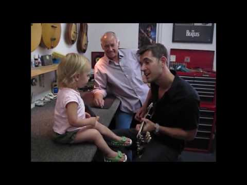 Nick Hexum at Neely Guitars
