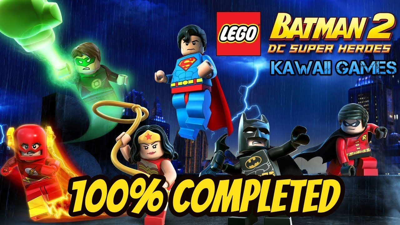 LEGO Batman 2: DC Super Heroes 100% Walkthrough ALL ...
