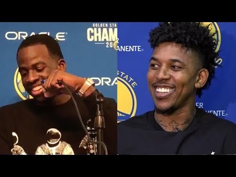 "Draymond Green ROASTS Nick Young Over His ""Career High"" Assist Total"