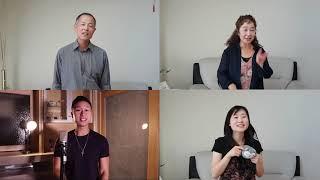 小潘潘 + 小峰峰 -《學貓叫》Family Cover【Sam Lin】