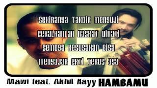 Download YouTube - Mawi feat. Akhil Hayy - HambaMu (Lagu Tema Imam Muda 2).flv Mp3