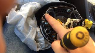 2015 VW Jetta driver  Airbag removal