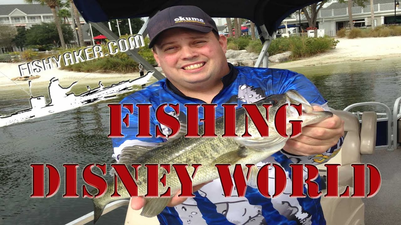 Walt disney world guided fishing excursion review episode for Fishing at disney world