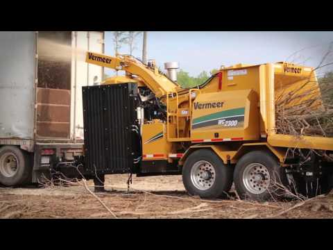 WC2300XL Whole Tree Chipper | Vermeer Forestry Equipment