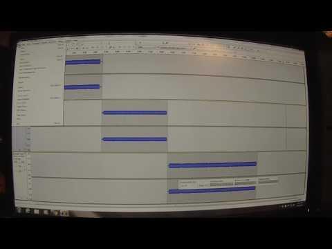 Audacity adding tracks tutorial