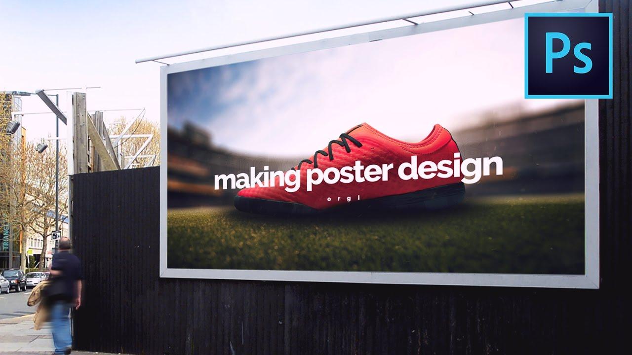 photo manipulation make a soccer shoe advertising poster in photo manipulation make a soccer shoe advertising poster in photoshop speed art