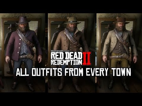Red Dead Redemption 2 Outfits From All Towns Armadillo Saint