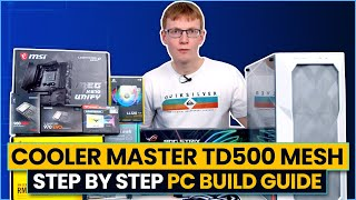 RTX 3080 and Ryzen 5800X Step-by-Step PC Build Guide 2021 (Cooler Master TD500 Mesh)