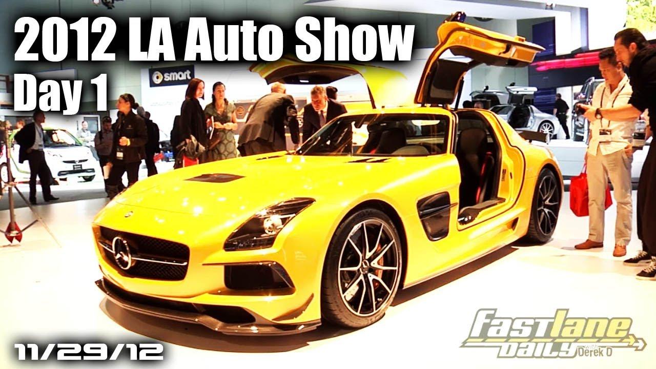 Download 2012 LA Auto Show Day 1 - Jaguar XF-RS, Diesel Audi, Acura RLX, & More!