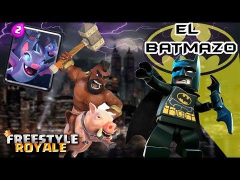 ¡¡EL BATMAZO!! ¡¡LA MEJOR BARAJA CON MURCIELAGOS!! ¿¿SON BUENOS?? | Navalha - Freestyle Royale
