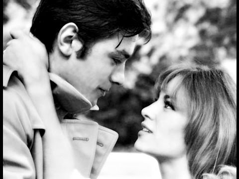Alain Delon and Nathalie Delon