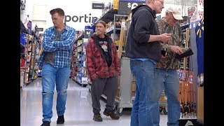 WALKING FARTS at Walmart - The Pooter