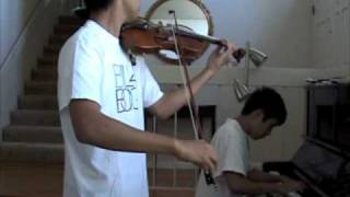 Kingdom Hearts - Dearly Beloved Violin and Piano duet