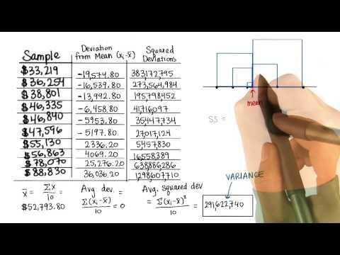 One Dimension - Intro to Descriptive Statistics