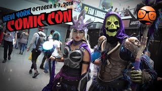 New York Comic Con 2018 Cosplay Music Video!
