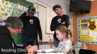 University of Utah Baseball joins Utah School for the Deaf #WeAreUSDB