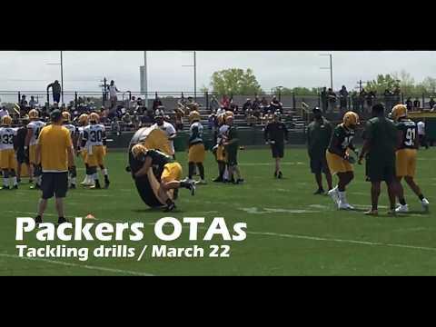 Green Bay Packers OTAs: Tackling drills