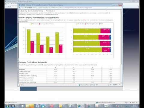 Marketing Management:  Markstrat Simulation Overview