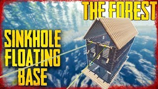 HOW TO BUILD A SAFE FLOATING SINKHOLE BASE | The Forest