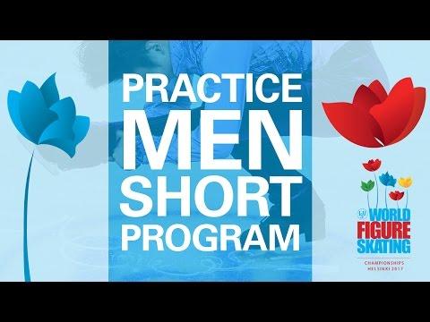 Men Short Program Practice - Helsinki