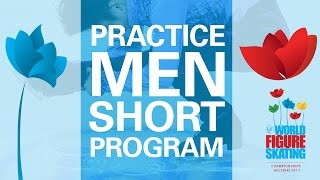 Men Short Program Practice - Helsinki