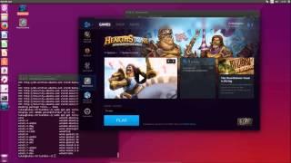 Install Hearthstone on Ubuntu 15.04 / Linux Mint