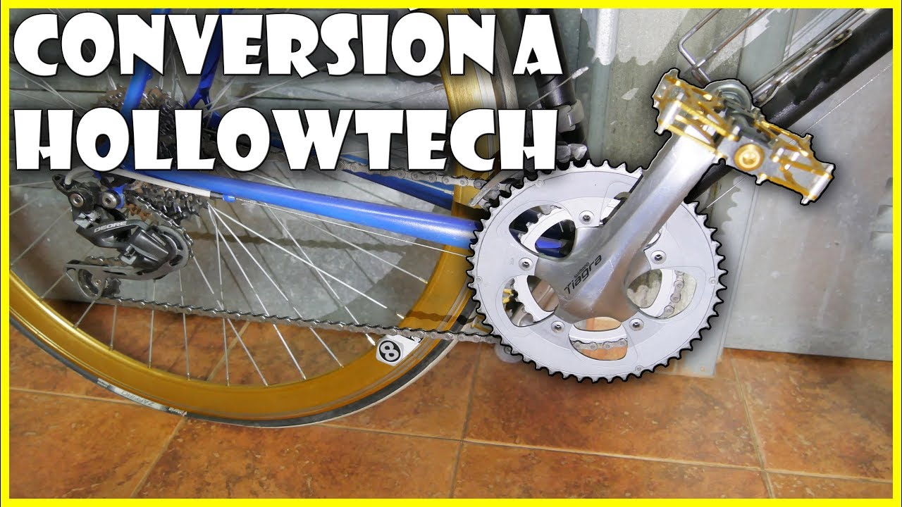 first look preview of sale 🚲 Conversión PEDALIER de CUADRADILLO a HOLLOWTECH Rosca Francesa |  MODIFICACIONES BICICLETA