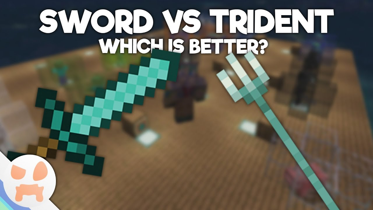 minecraft axe vs sword 2018
