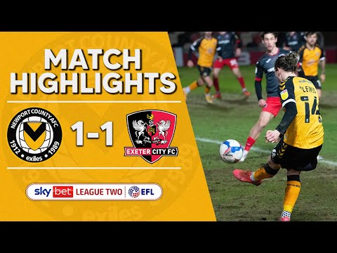 Newport Exeter City Goals And Highlights