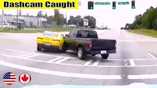 Ultimate North American Cars Driving Fails Compilation - 184 [Dash Cam Caught Video]