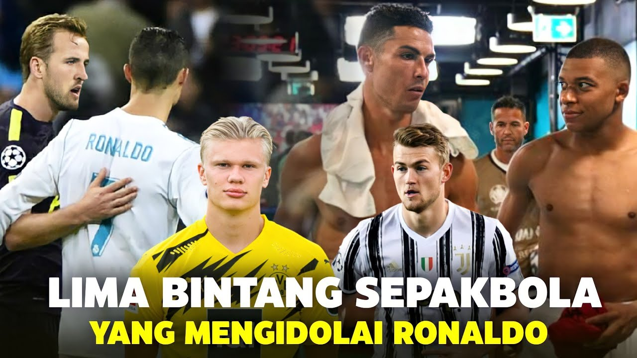 """Download """"Pemain Terbaik Memang Beda"""" Inilah Komentar 5 Bintang Sepakbola Dunia yang Mengidolai Ronaldo"""