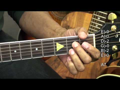 Guitar Chord Form Tutorial #243 Eric Clapton Style Blues Chords Lesson EricBlackmonMusicHD
