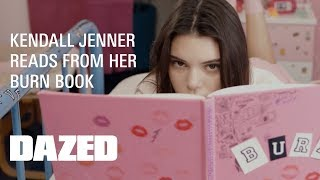 Kendall Jenner's 'burn Book'