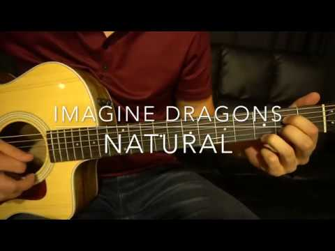 Natural // Imagine Dragons // Easy Guitar Lesson (W/Tabs!)