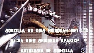 Godzilla Vs King Ghidorah 1991 #18 Mecha King Ghidorah Aparece! Resumen Reseña Antologia