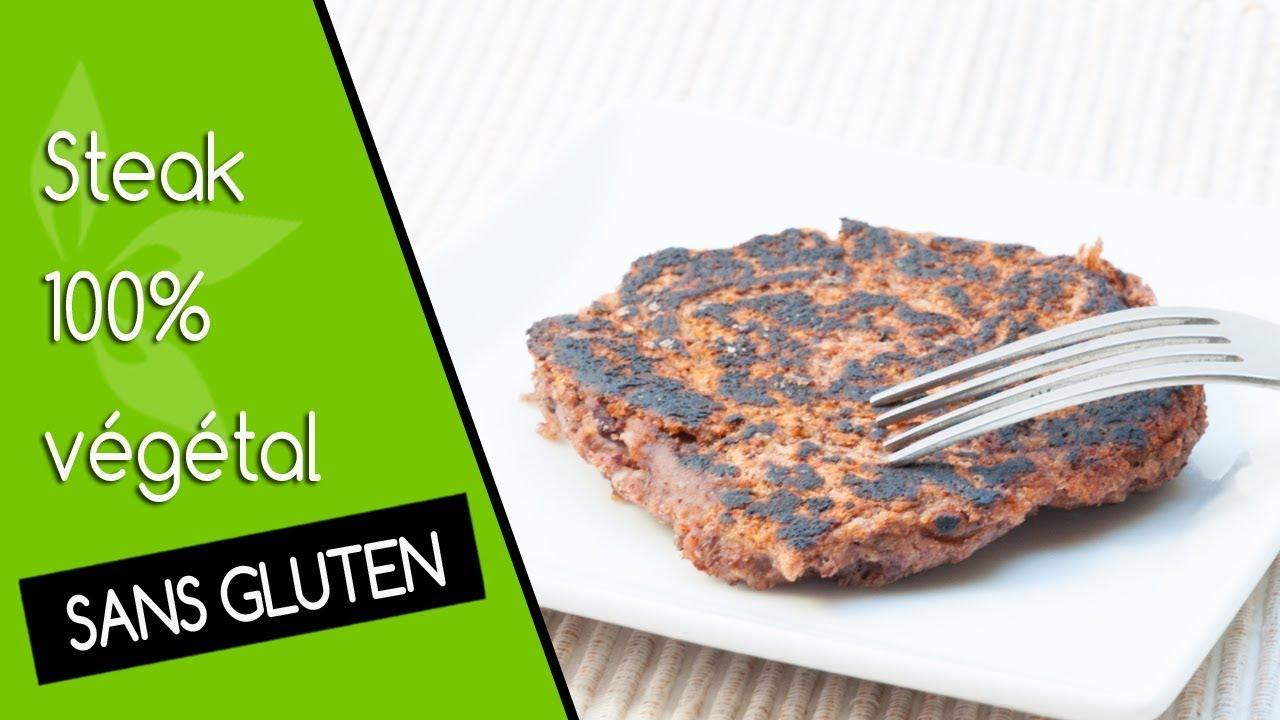Steak végétal, recette vegan et sans gluten