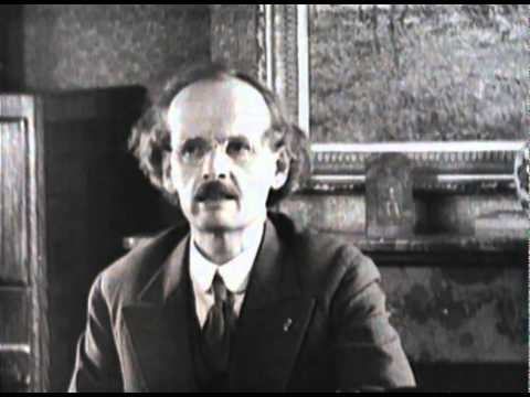 Professor Piccard talking about mankind in the stratosphere