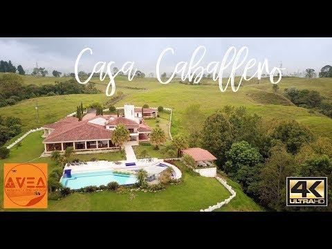 Casa Caballero Estate, Quindio, Colombia 4K