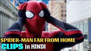 Spider-Man Far From Home Clips in Hindi