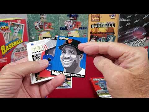 Michael Jordan Baseball Card Search Breaking A Box Of 1994 Upper Deck Baseball Cards