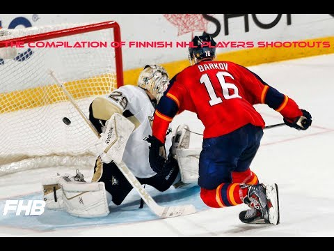 The Compilation Of Finnish NHL Players Shootouts | HD