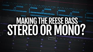 Making the reese bass part 2: the importance of mono